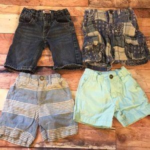 Bundle of 4 boys shorts Sz 2T